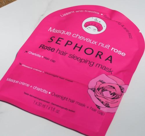 sephorarosehairsleepingmask