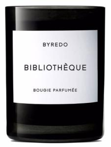 byredobibliothequecandle